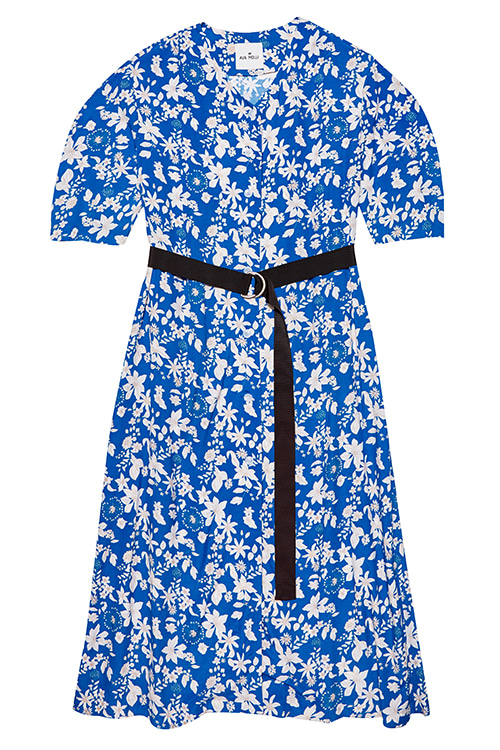 5041 Alfie Robe Dress (blue)