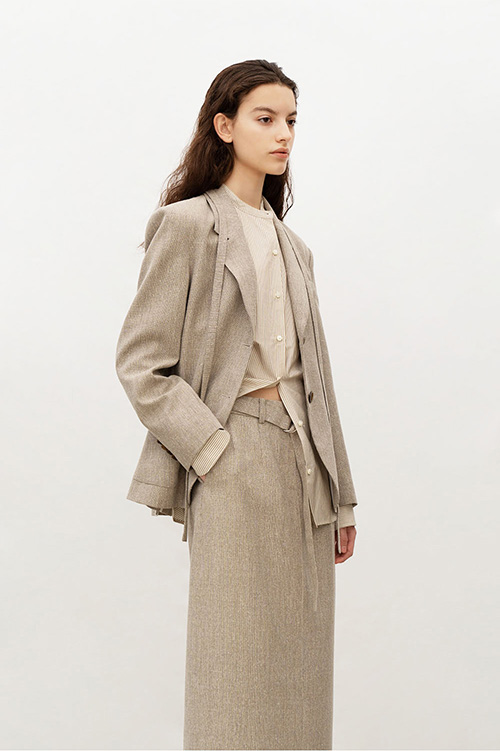 OUTPOCKET SINGLE JK (BEIGE)