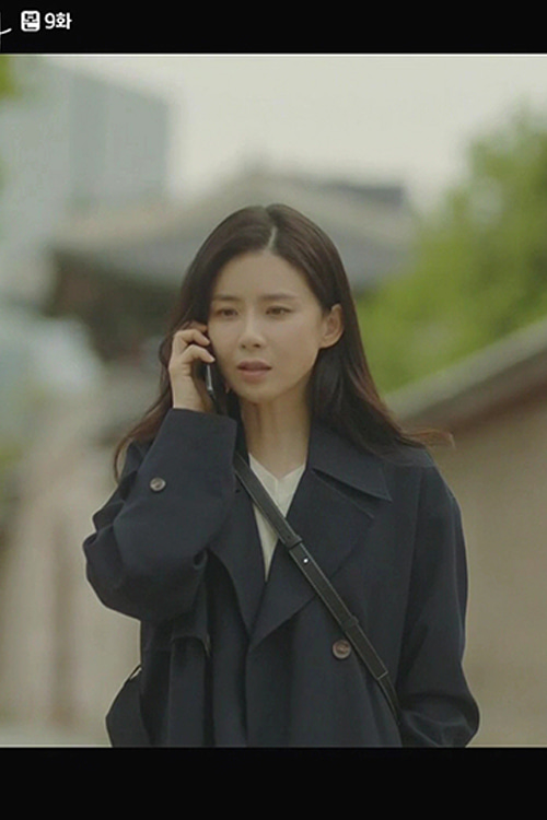 TVN 드라마 '화양연화' EMILY DOUBLE TRENCH COAT