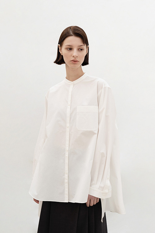 OVERSIZE COTTON SHIRT (WHITE)